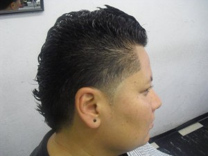 Fade With Mohawk Haircut