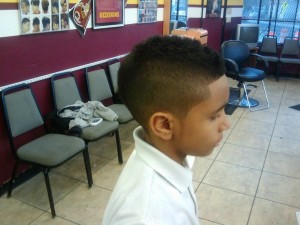 Haircut Mohawk Fade