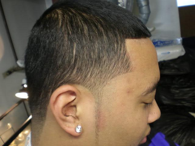Haircut taper vs fade