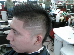 Mohawk Haircut Fade