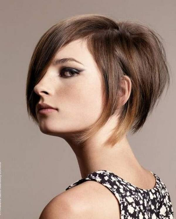 ... new hair style for me! I decided to go with an edgier bob, and